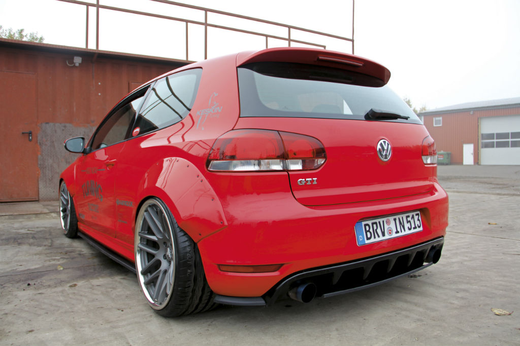 VW Golf VI GTI: Widebody-Kit extrem! | Tuning-News