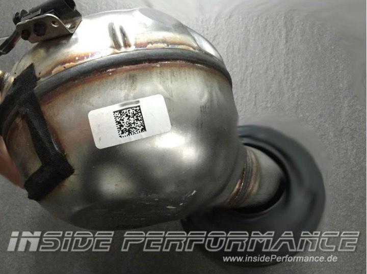 Active Sound-Aktuator von insidePerformance für die BMW 5er-Reihe.