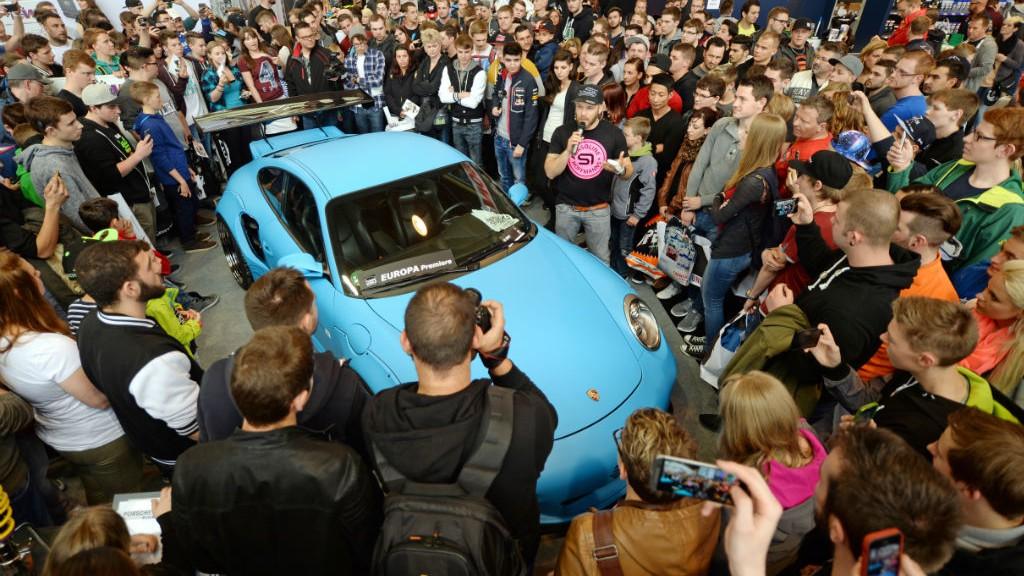 B3:PS-Profi Sidney Hoffmann Präsentiert die neuesten Fahrwerke  Porsche Liberty Walk