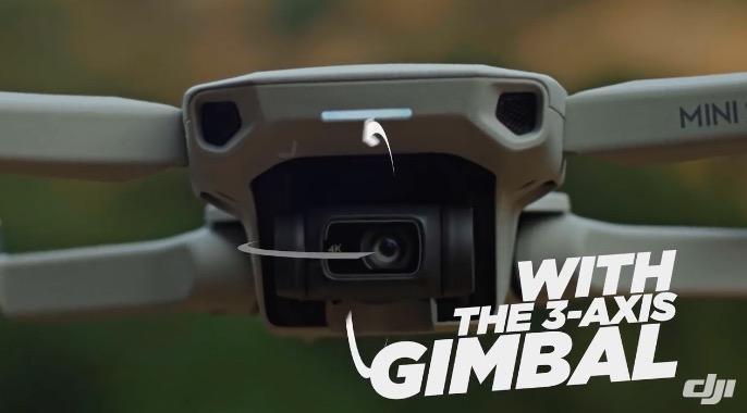 DJI Mini 2: Leichtgewicht mit stabilisierter 4K-Kamera