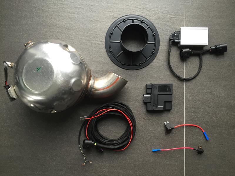Aktive Sound Nachrüstung - Komponenten