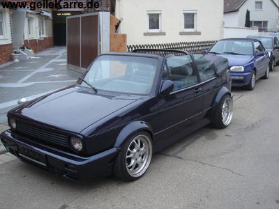 vw golf 1 cabrio vr6 turbo von tobi golfcruise. Black Bedroom Furniture Sets. Home Design Ideas