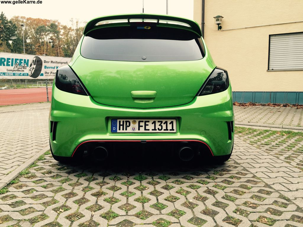 opel corsa opc n rburgring edition von opc nre tuning. Black Bedroom Furniture Sets. Home Design Ideas