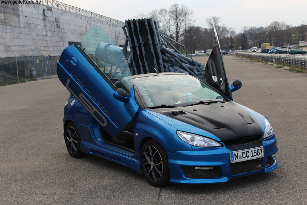 peugeot 206 cc von jassy melly tuning community. Black Bedroom Furniture Sets. Home Design Ideas