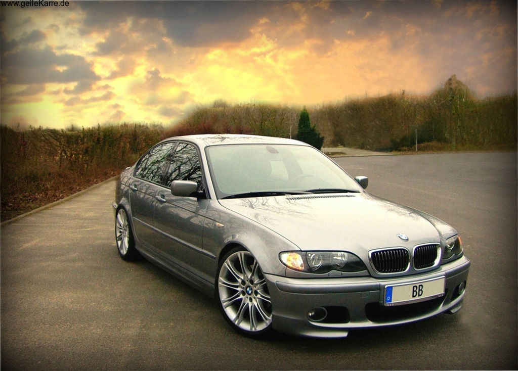 bmw e46 330d m paket silbergrau von bb1980 tuning. Black Bedroom Furniture Sets. Home Design Ideas