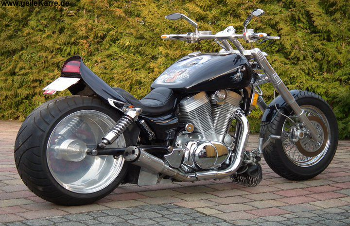 suzuki intruder vs 1400 von det tuning community