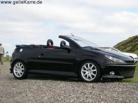 peugeot 206 cc von dezign tuning community. Black Bedroom Furniture Sets. Home Design Ideas