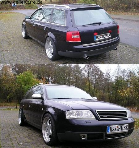 audi a6 4b avant 2 5 tdi quattro von mr a6 v6 tuning. Black Bedroom Furniture Sets. Home Design Ideas