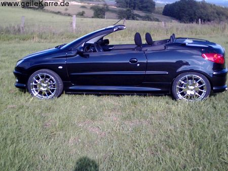 peugeot 206 cc von korn7943 tuning community. Black Bedroom Furniture Sets. Home Design Ideas