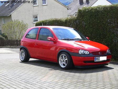 opel corsa b 1 4 si von vitamin b turbo tuning community. Black Bedroom Furniture Sets. Home Design Ideas