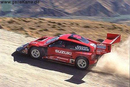 Suzuki Escudo Hill Climb