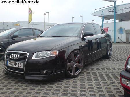 on Audi A4 B7 Detailansicht