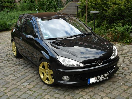 peugeot 206 rc von bmwmin tuning community. Black Bedroom Furniture Sets. Home Design Ideas