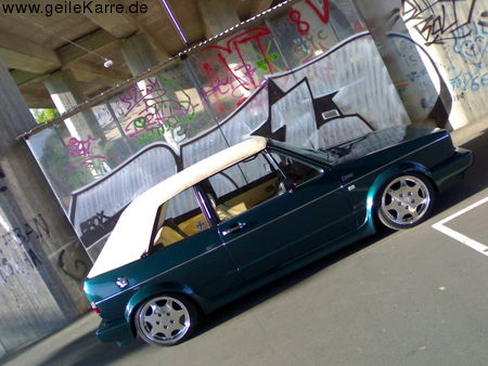 vw golf 1 cabrio von lexys cabby tuning community. Black Bedroom Furniture Sets. Home Design Ideas