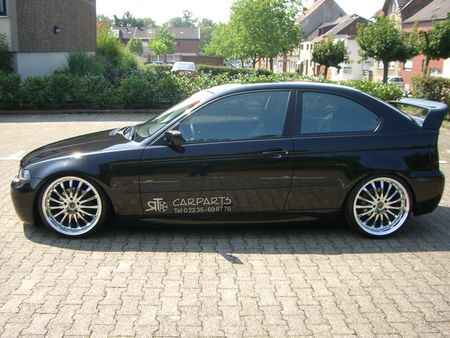 detalle de mi coche bmw e46 compact tuning. Black Bedroom Furniture Sets. Home Design Ideas