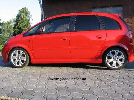 Opel meriva a tuning teile