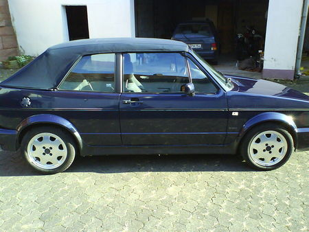 vw golf 1 cabrio classic line von narcotic tuning. Black Bedroom Furniture Sets. Home Design Ideas