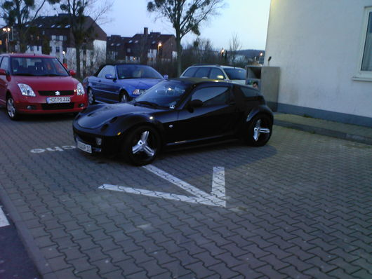 Smart Car Black