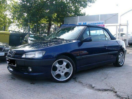 Peugeot 306 Cabrio Baujahr 1996