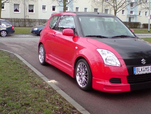 suzuki swift sport von blumenstefan tuning community. Black Bedroom Furniture Sets. Home Design Ideas