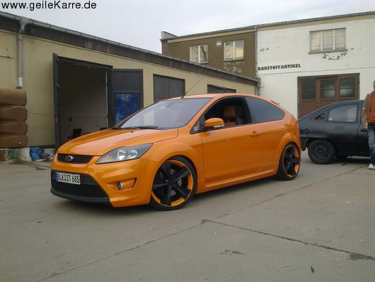 ford focus st facelift von orangest tuning community. Black Bedroom Furniture Sets. Home Design Ideas