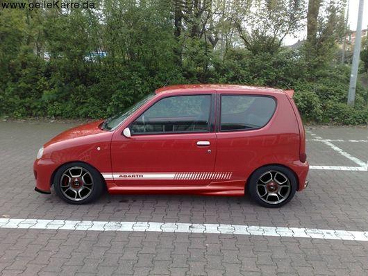 Fiat Seicento Sporting Abarth