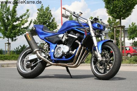 suzuki bandit 1200 pop von queristmehr tuning community. Black Bedroom Furniture Sets. Home Design Ideas