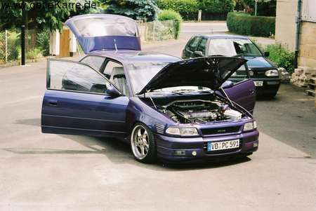 OPEL Astra GSI C20LET
