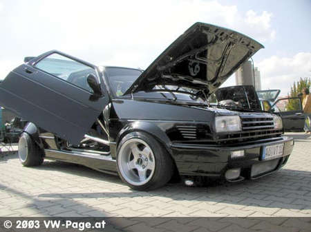 vw golf 2 vr6 turbo mit fl gelt ren nos stickst von. Black Bedroom Furniture Sets. Home Design Ideas