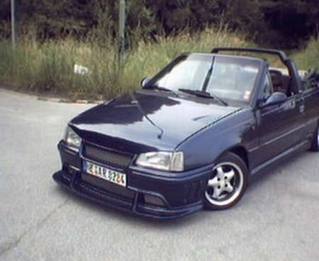opel kadett e cabrio gsi 16v von b bluebeast tuning. Black Bedroom Furniture Sets. Home Design Ideas