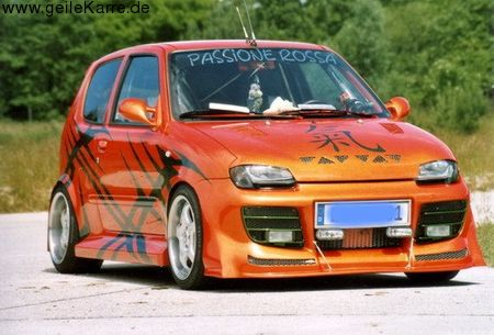 Fiat seicento tuning teile