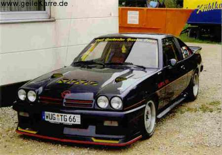 opel manta b gsi exclusive von grubisaltopel tuning. Black Bedroom Furniture Sets. Home Design Ideas