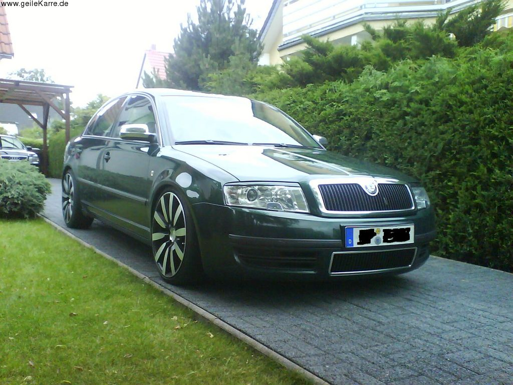 skoda superb von moddis tuning community. Black Bedroom Furniture Sets. Home Design Ideas