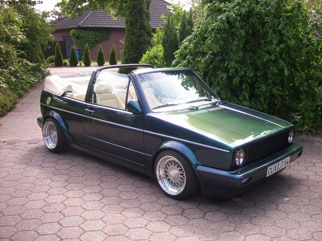 vw golf 1 cabrio von tingel tuning community. Black Bedroom Furniture Sets. Home Design Ideas