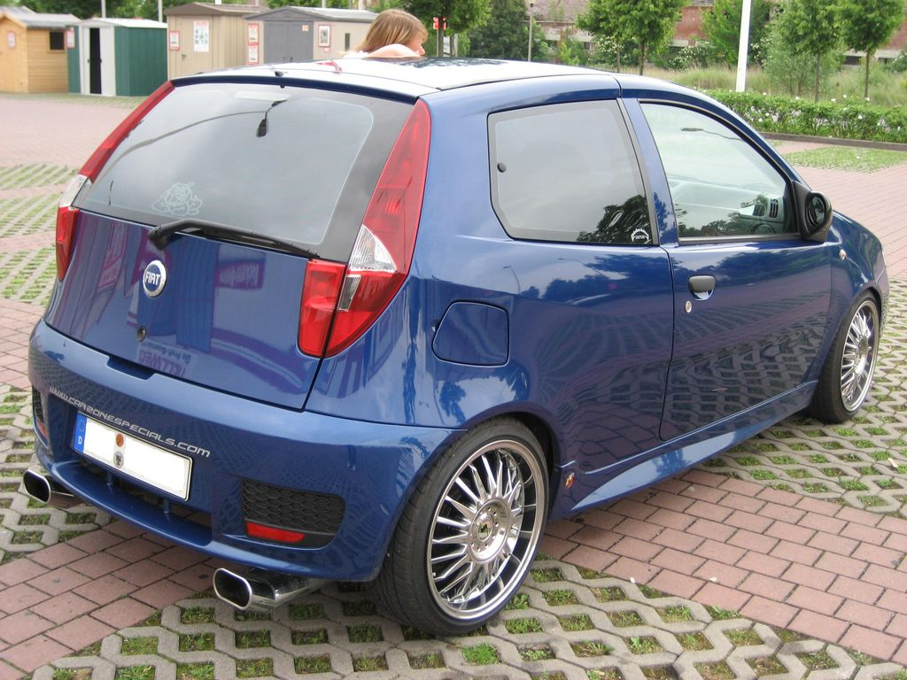 fiat punto 188 b von greendag tuning community. Black Bedroom Furniture Sets. Home Design Ideas