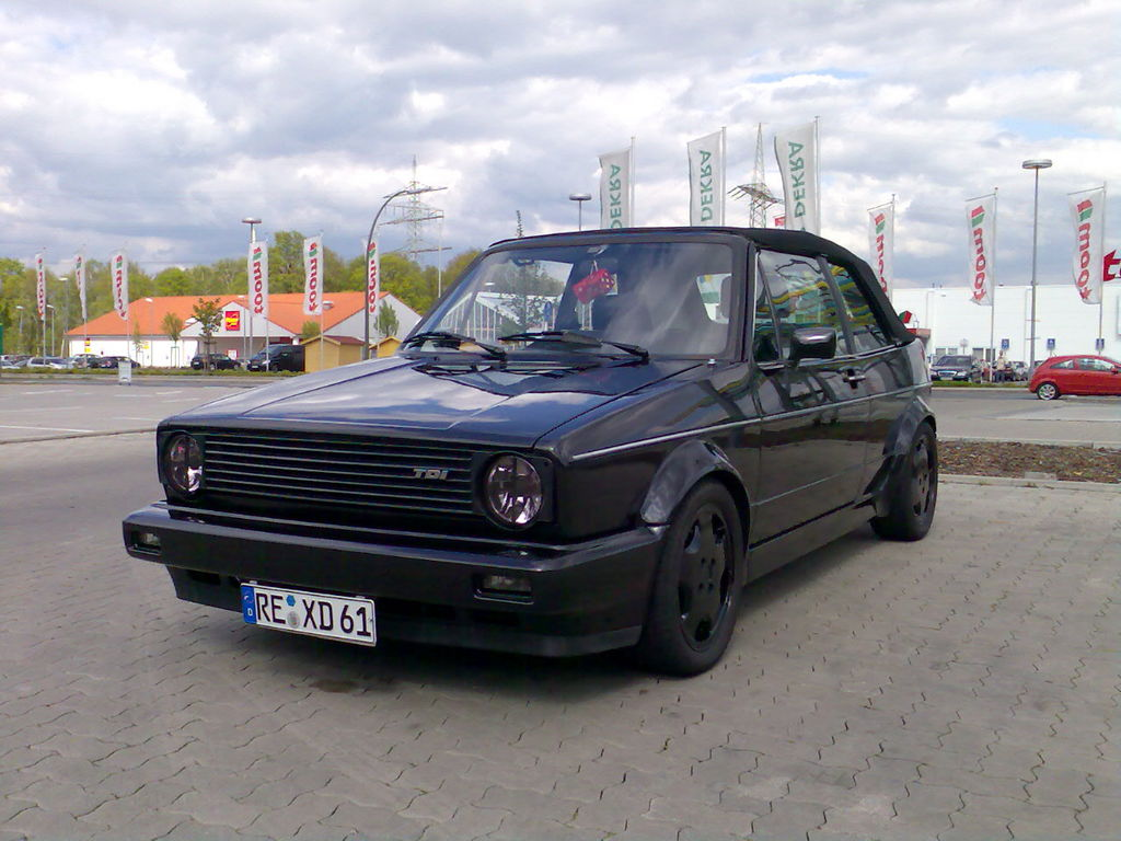 vw golf 1 cabrio von daniel jackson tuning community. Black Bedroom Furniture Sets. Home Design Ideas