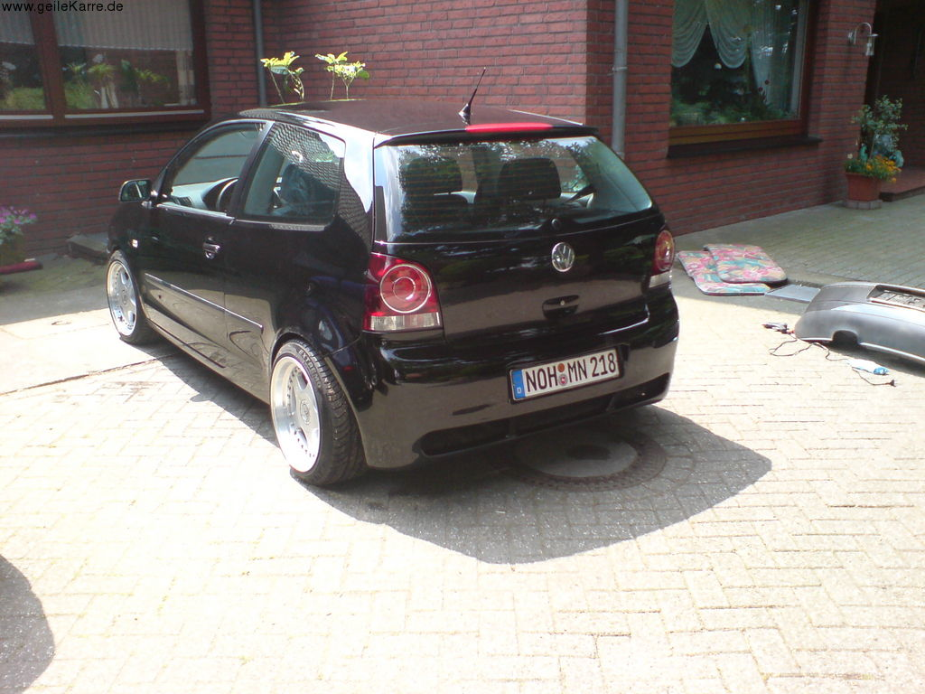 vw polo 9n von la paloma tuning community. Black Bedroom Furniture Sets. Home Design Ideas