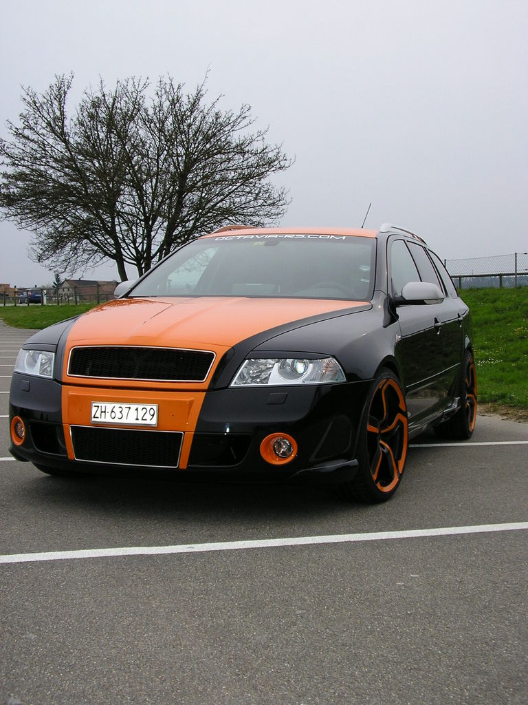 skoda octavia rs tuning tuning skoda octavia rs from kyiv. Black Bedroom Furniture Sets. Home Design Ideas