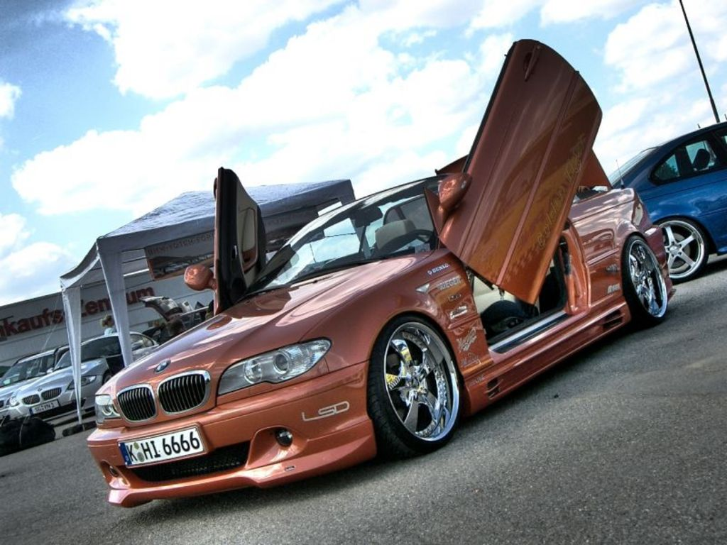 bmw e46 facelift cabrio von golden tiger tuning. Black Bedroom Furniture Sets. Home Design Ideas