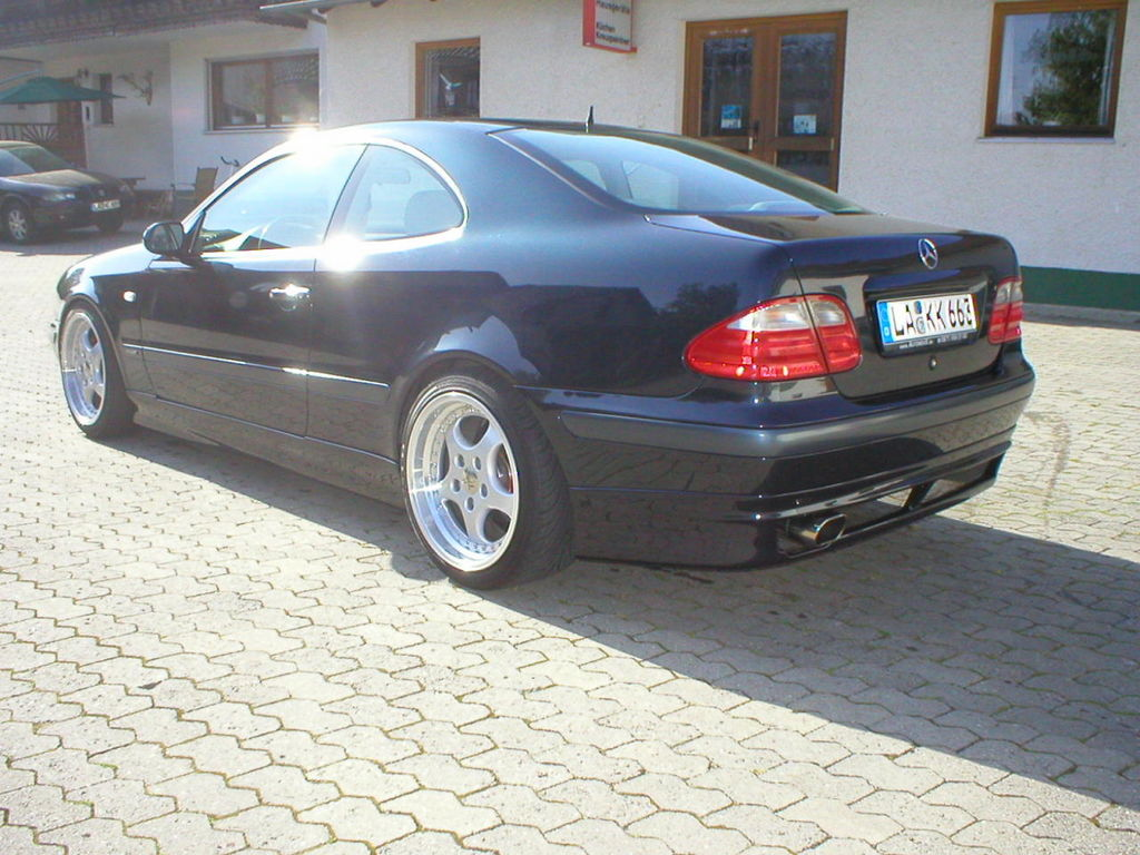mercedes clk 200 kompressor w208 tuning. Black Bedroom Furniture Sets. Home Design Ideas