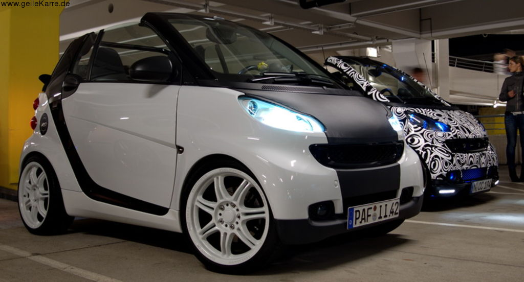 smart fortwo ii 451 cabrio pulse von smart in tuning. Black Bedroom Furniture Sets. Home Design Ideas