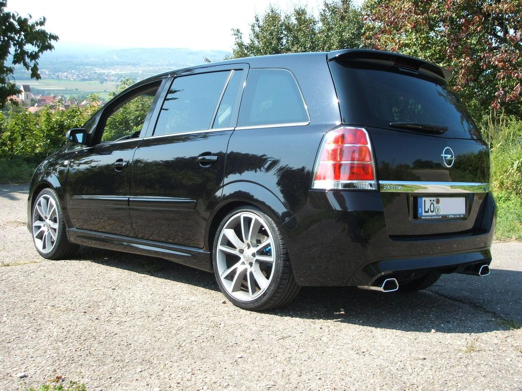 opel zafira b opc von opc badman tuning community. Black Bedroom Furniture Sets. Home Design Ideas