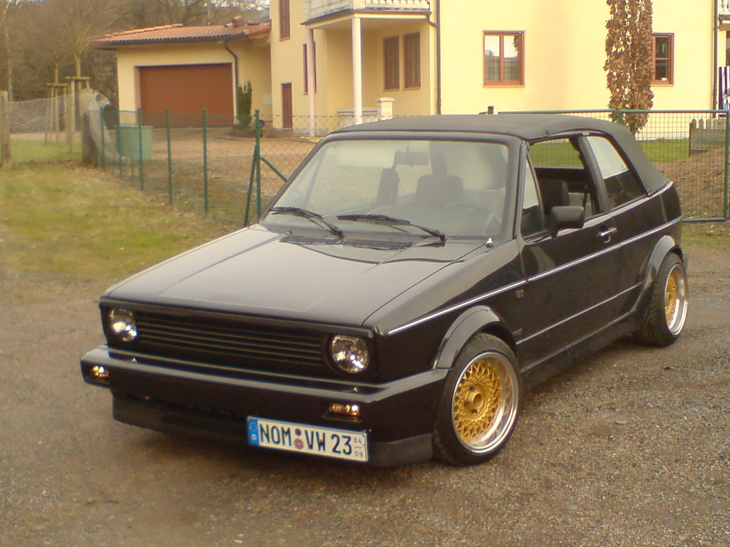 vw golf 1 cabrio 155 von cab 155 tuning community. Black Bedroom Furniture Sets. Home Design Ideas