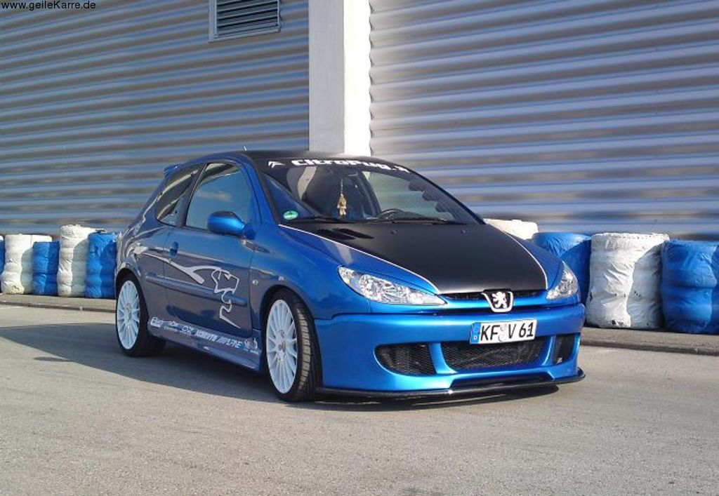 peugeot 206 hdi rc tuning von dino tuning community. Black Bedroom Furniture Sets. Home Design Ideas