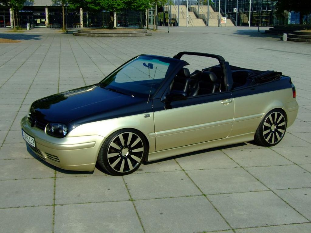 vw golf 4 cabrio von zweitwagen tuning community. Black Bedroom Furniture Sets. Home Design Ideas