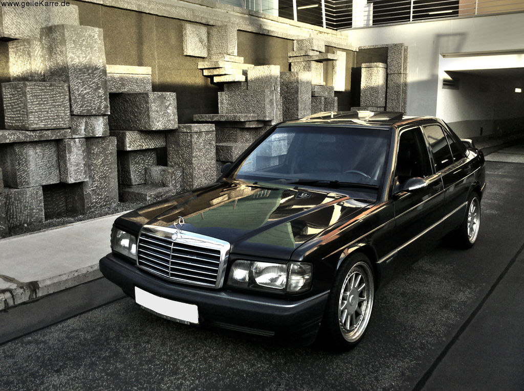 mercedes 190e 2 6 w201 von art of creation tuning. Black Bedroom Furniture Sets. Home Design Ideas