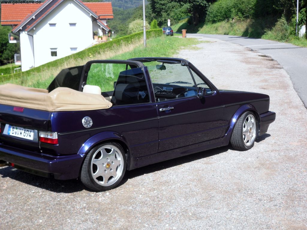 vw golf 1 cabrio von cabriosascha tuning community. Black Bedroom Furniture Sets. Home Design Ideas