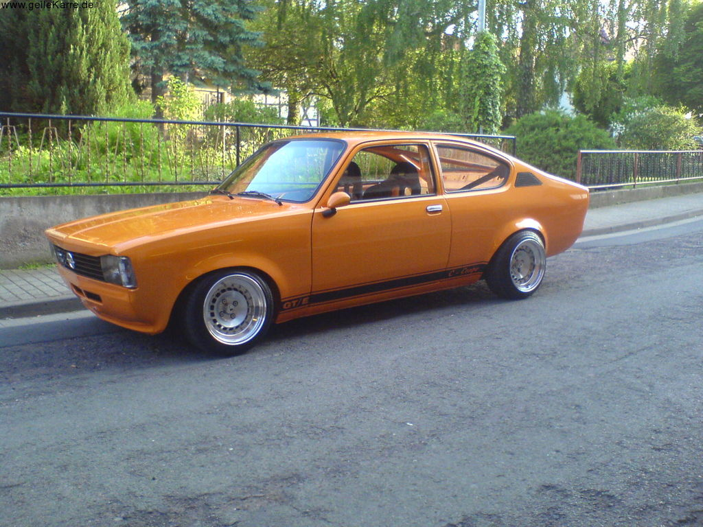 foto opel kadett c coupe car tuning. Black Bedroom Furniture Sets. Home Design Ideas
