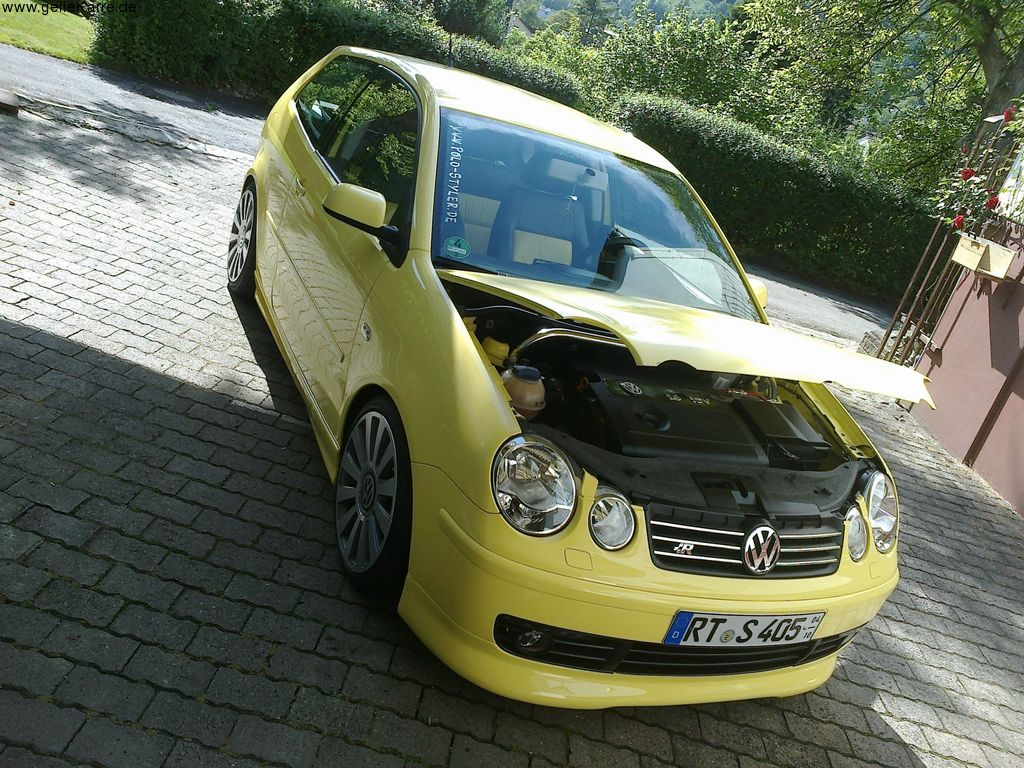 vw vw polo 9n von polo styler tuning community. Black Bedroom Furniture Sets. Home Design Ideas